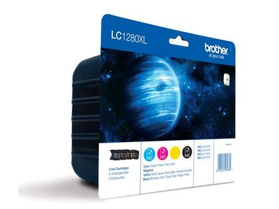 BROTHER LC1280XLVAL ink cartridge value pack blister (LC1280XLVALBPDR)