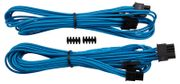 CORSAIR Professional Individually Sleeved PCIe cable Type 4 Generation 3 2PACK, BLUE