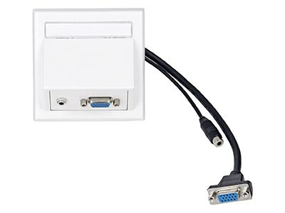 VIVOLINK Wall Connection Box VGA 3,5mm (WI221182)