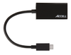 ACCELL USB-C - VGA Adapter, 2560x1600 i 60Hz, DP ALT mode, 0,15m, svar (U187B-004B)