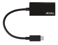 USB-C - VGA Adapter, 2560x1600 i 60Hz, DP ALT mode, 0,15m, svar