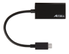 ACCELL USB-C - VGA Adapter, 2560x1600 i 60Hz, DP ALT mode, 0,15m, svar