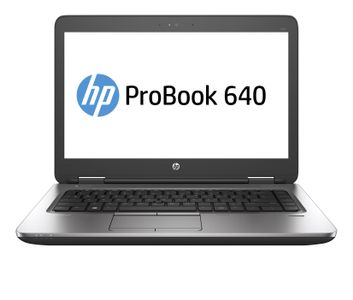 "HP ProBook 640 G2 - Core i5 6200U / 2.3 GHz - Win 10 Pro 64-bit - 8 GB RAM - 128 GB SSD - 14"""" ( Full HD ) - HD Graphics 520 - 802.11ac (X2F68EA#AK8)"