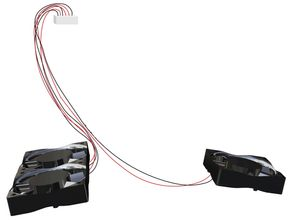 CUBEPRO FAN WIRE HARNESS 3 . ACCS