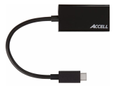 ACCELL USB-C - HDMI 2.0a Adapter, 4096x2160, 60Hz, HDCP 1.3, 0,15m, sv