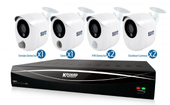KGUARD SECURITY IP Camera Hybrid Live View with Full HD output.