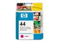 HP 44 original ink cartridge magenta standard capacity 42ml 1-pack