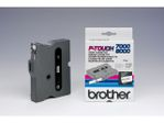 BROTHER P-TOUCH TAPE 12MM BLACK