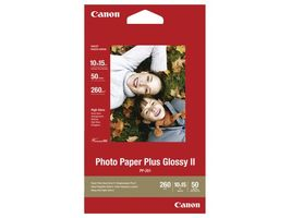 CANON 10x15 Photo Paper Plus Glossy (PP-201), 270 gram 50 Sheets (2311B003)
