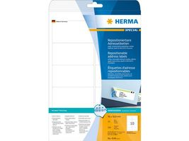 Etikett HERMA Movable 96x50, 8mm(250)