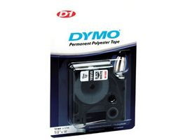 D1 Tape Perm.polytape 19mm Black on White