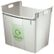 LEITZ Waste bin Basko 40L Grey