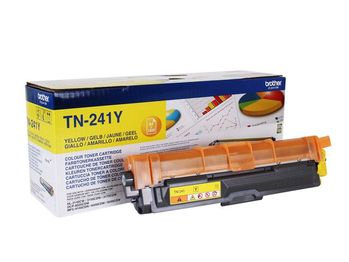BROTHER TN-241Y TONER CARTRIDGE YELLOW F. HL-3140/ 3150/ 3170 F.1400 P SUPL (TN241Y)