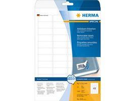 Etikett HERMA Movable 45, 7x21, 2mm (1200)
