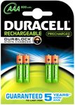 Batteri Duracell StayCharged opladeligt HR03/AAA MAH 850
