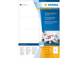 Etikett HERMA Movable 96x63,5mm (800)