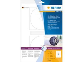 Etikett HERMA CD inkjet Ø 116mm (20)