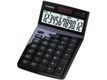CASIO TABLE CALCULATOR JW-200TW LC-DISPLAY,  BATTERY+SOLAR,  BLACK ML ACCS
