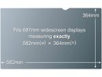 "3M personvernfilter for 27"" widescreen"