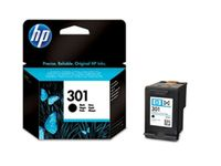 HP Ink Black Cartridge No. 301 (CH561EE)