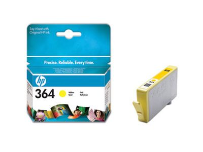 HP 364 YELLOW INK CARTRIDGE (CB320EE)