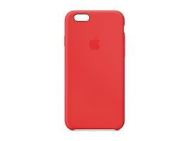 IPHONE 6 SILICONE CASE (RED)