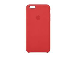 iPhone 6 Plus Leather Case Red