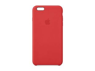 IPHONE 6 PLUS LEATHER CA (BRIGHT RED)