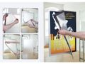DURAFRAME POSTER SILVER 50x70cm MAGNETIC / DURABLE (499623)