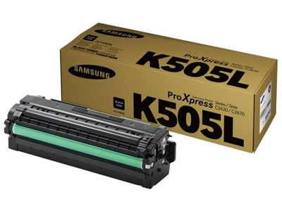 SAMSUNG Black Toner Cartridge   (CLT-K505L)