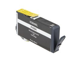 Blekk No364XL PhotoBlack Photo Black, 800 sider, tilsvarer HP CB322EE, for HP Photosmart D5460