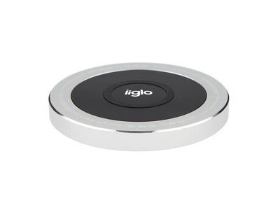IIGLO iPhone 6 Wireless Charging Cover Grå,  Trådløs ladedeksel til iPhone 6, Qi Standard (QPC616GREY)
