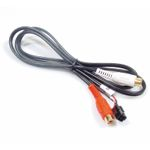 AUX cable Microfit 4pin Female connector to 2 x RCA Female