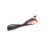 AUX Adaptor Microfit 4pin Male connector to 2 x RCA Male