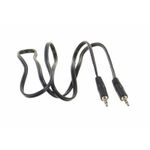 AUX Adaptor Jack extension Male-Male 3,5mm stereo Jack 1 meter