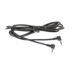AUX Adaptor Jack extension Male-Male 3,5mm 90* stereo Jack  1,5 meter