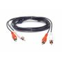 AUX Adaptor 2 x RCA cable Male-Male 1,5m
