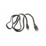 AUX Adaptor Jack extension Male-Female 3,5mm stereo Jack 1 meter