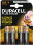 DURACELL Batteri Duracell MN 1500 1,5v LR6/AA Plus Power Pk/4