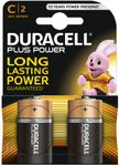 Batteri Duracell MN 1400 1,5v LR14/C Plus Power Pk/2
