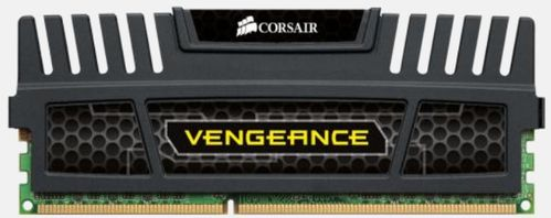 CORSAIR DDR3, 1600MHz 8GB 1x240 Dimm,, Unbuffer. 9-9-9-24, Vengeance Heatspread,  Core i7,Core i5 and Core 2/AMD Phenom II (26260270)