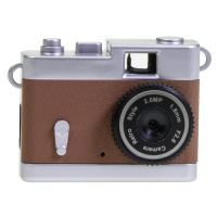 Mini Retro Digital Camera brown 2MP