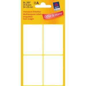AVERY 3087 Handwriting labels 54x35 (224) (3087*10)
