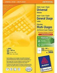AVERY 3655 ILC labels 210x148 (200) (3655)