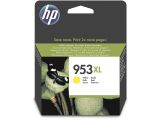 HP 953XL / F6U18AE High Capacity Yellow Ink - Blækpatron Gul