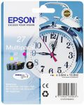EPSON MULTIP3-COL DURABRITEULTRAINK27 CY, MGNT, YELL, RS BLI/W RF+AM TAGS SUPL