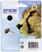 EPSON Ink/T0711 Cheetah 7.4ml BK SEC