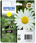 EPSON CLARIA HOME INK YELLOW 18 RF/AM TAGS SUPL