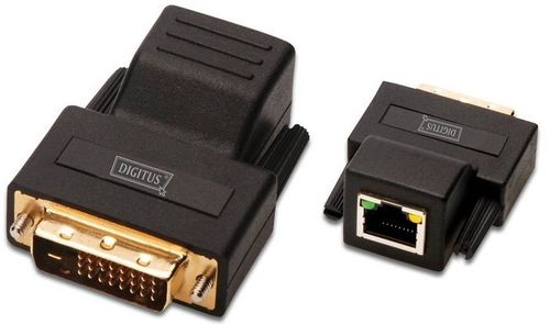 DIGITUS Extender DVI Video über Cat5 UTP bis zu 70m (DS-54101)