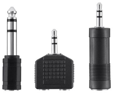 BELKIN Adapter Audio 3.5-6.3 3.5mm Spltr Blk (F3Y135BF)